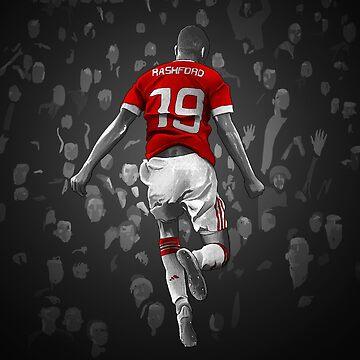Marcus Rashford - Manchester United by barrymasterson