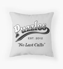 Puzzles Bar Throw Pillow