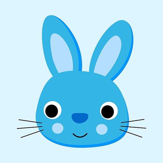 blau Hase von fourretout