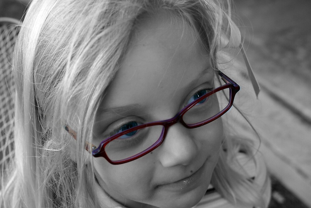 Miya and Her Glasses by Jayson Brazell