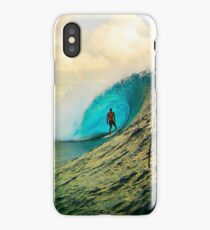 Dude Surfing on the Wave is Cool iPhone Case/Skin