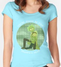 Rick and Morty - Toxic Rick and Morty Women's Fitted Scoop T-Shirt