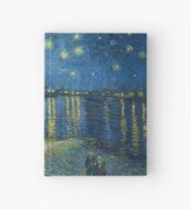 Van Gogh's Starry Night Over The Rhône Hardcover Journal