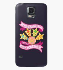 Töte zusammen, bleib zusammen - Sailor Scouts Hülle & Klebefolie für Samsung Galaxy