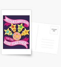 Slay Together, Stay Together - Sailor Scouts Postcards