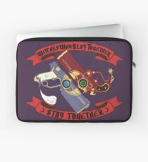Slay Together, Stay Together - Bayonetta & Jeanne Laptop Sleeve