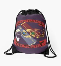 Slay Together, Stay Together - Bayonetta & Jeanne Drawstring Bag
