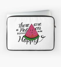 There are a Melon Reasons to Be Happy Laptop Sleeve