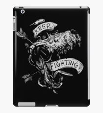 Keep Fighting  iPad Case/Skin