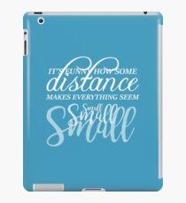 Distance - Let It Go iPad Case/Skin