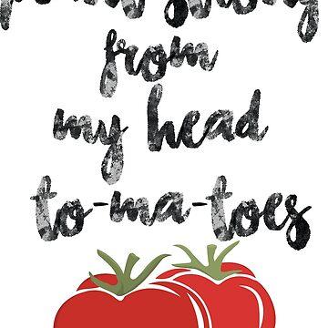 Pflanzenstark von meinem Kopf To-Ma-Toes von engine2forlife