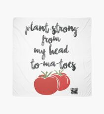 Plant-Strong From My Head To-Ma-Toes Scarf