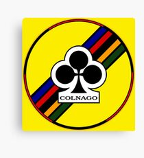Colnago Bicycles Italy Canvas Print