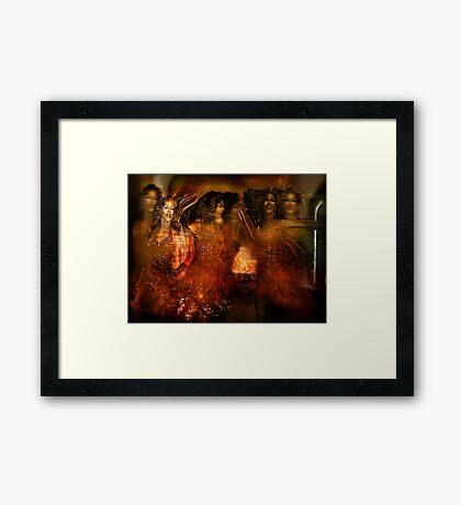 Salome's Dance Framed Print