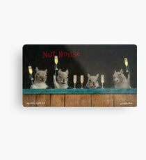 Will Bullas print / Squirrel's night out... Metal Print