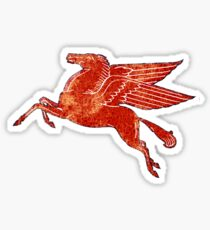 Mobil Oil Vintage Pegasus sign Sticker