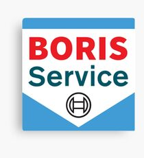 BORIS SERVICE Canvas Print