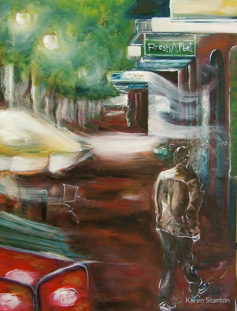 In a dream - Peel Street' by Karen Stanton