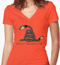 Don't Tread on Net | Net Neutrality  Women's Fitted V-Neck T-Shirt