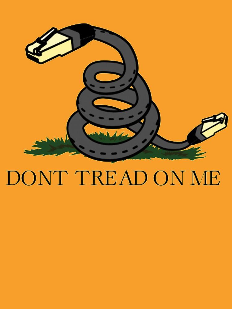 don t tread on net net neutrality unisex t shirt by