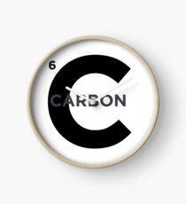 Carbon the big C 6 Clock