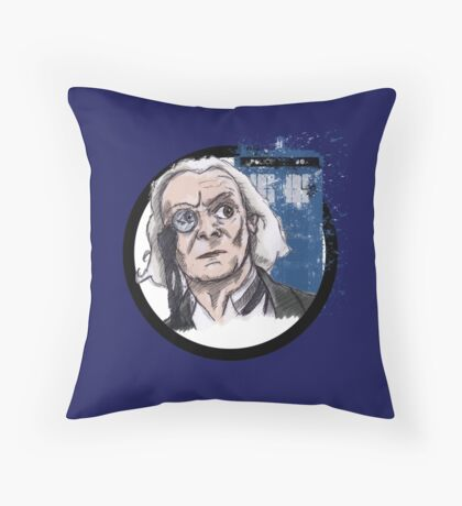 First Lord of Time Throw Pillow