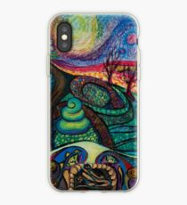 Gaudi in Love iPhone Case