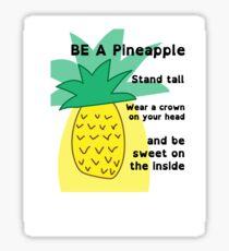 Unique Pineapple Sticker