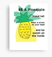 Unique Pineapple Metal Print