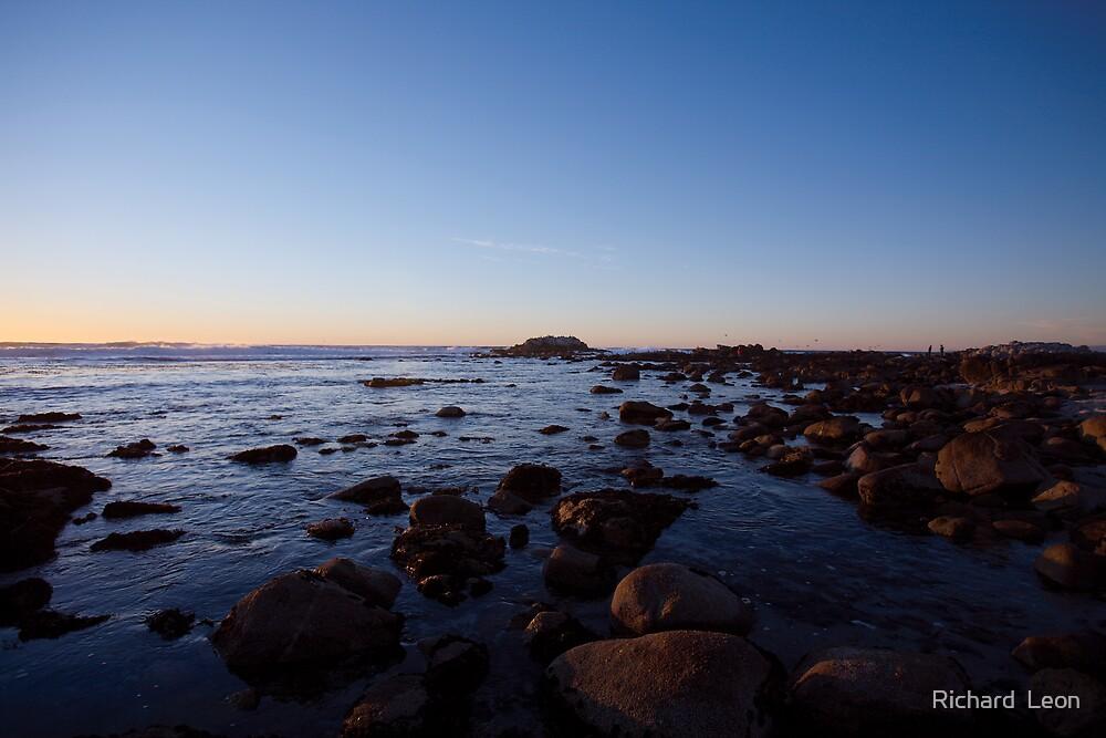 Ocean View Sunrise  •  Pacific Grove, California by Richard  Leon