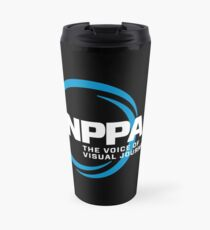 NEW NPPA SHUTTER SWIRL LOGO Travel Mug