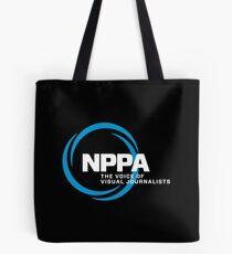 NEW NPPA SHUTTER SWIRL LOGO Tote Bag