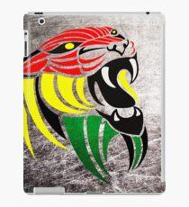 Grunge Reggae Music Lion iPad Case/Skin