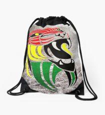 Grunge Reggae Music Lion Drawstring Bag