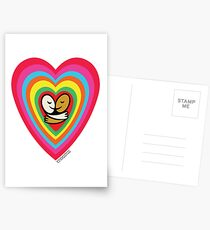 One Bright Heart V3 Postcards