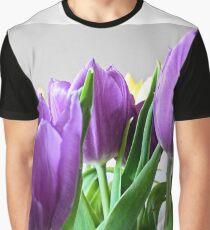 purple tulips Graphic T-Shirt