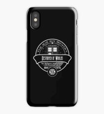 Destroyer of Worlds Ale iPhone Case/Skin