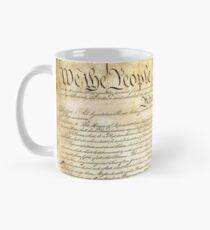 Vintage United States Constitution Classic Mug