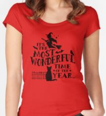 Wonderful Time Women's Fitted Scoop T-Shirt