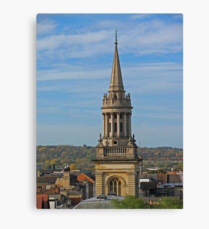 All Saints, Oxford Canvas Print