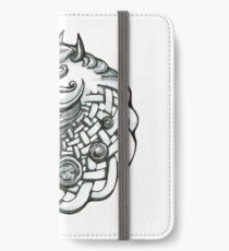 Celtic horse head iPhone Wallet/Case/Skin