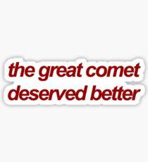 Das große Kometen-Musical Sticker