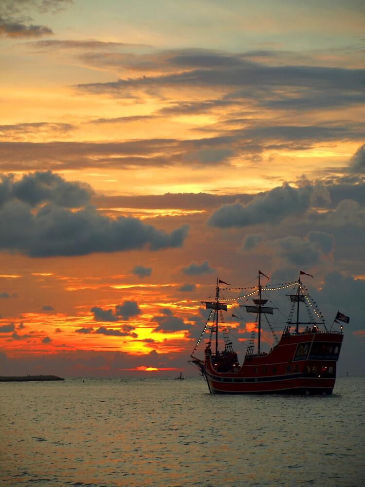 into the sunset- arg! by Hannah Grubb