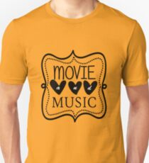 Movie and Music Unisex T-Shirt