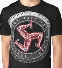 Isle Of Man TT classic Motorcycle Races Graphic T-Shirt