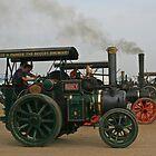 Robey Steam Engine by RedHillDigital