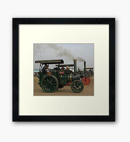 Robey Steam Engine Framed Print