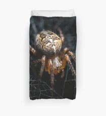 Spider on the Web  Duvet Cover