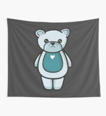 Sad bear Wall Tapestry