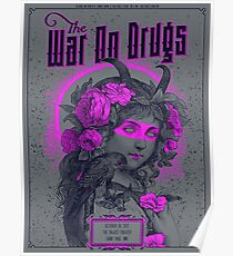 The War On Drugs Poster, October 18, 2017 The Palace Theater Saint Paul. MN Poster